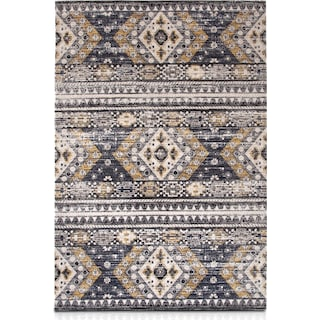Palms Indoor/Outdoor Area Rug - Blue Diamond