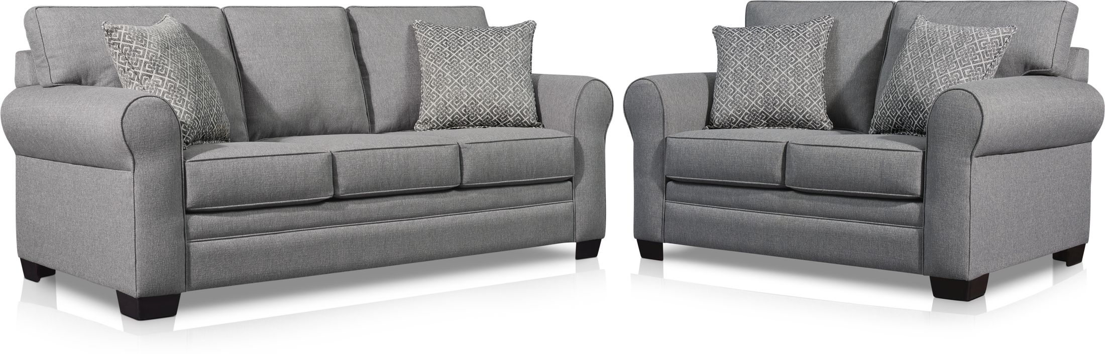 Picture of: Camila Sofa And Loveseat Set Value City Furniture And Mattresses