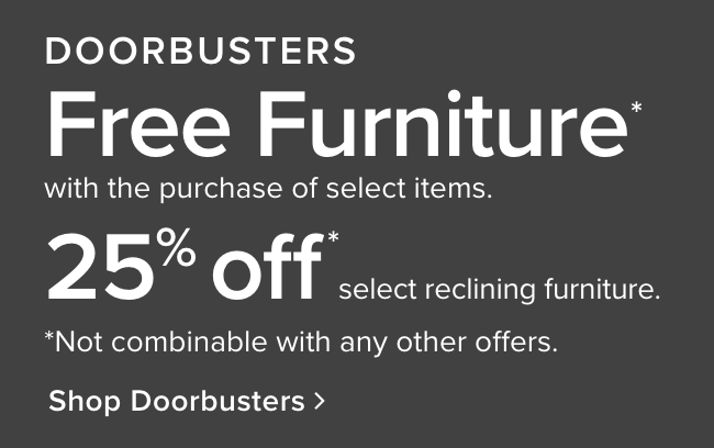 Shop our doorbusters