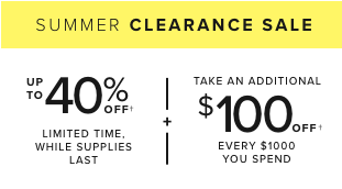 check out our clearance