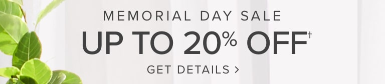 The Memorial Day Buy More Save More Sale! Shop now