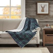 acadia blue blanket