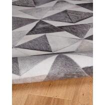 acute gray area rug ' x '