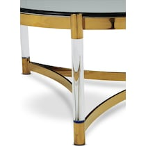 adeline gold coffee table