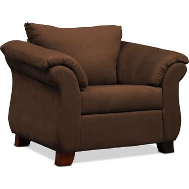 Adrian Chair - Chocolate
