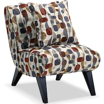 adrian multicolor accent chair
