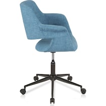 aiden blue office chair