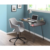 aiden gray office chair