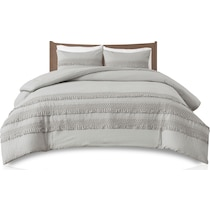 alden gray full queen bedding set