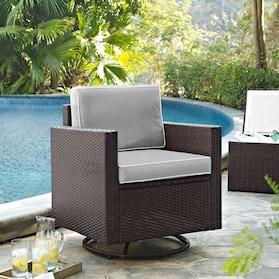 Aldo Outdoor Swivel Chair