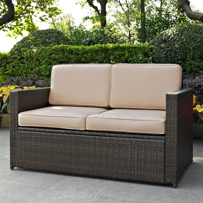 Outdoor Furniture - Aldo Outdoor Loveseat