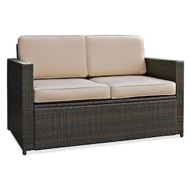 Aldo Outdoor Loveseat, 2 Chairs and Coffee Table Set