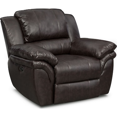 Aldo Power Recliner - Brown