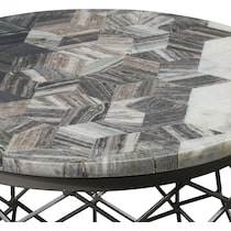 alexandria gray coffee table