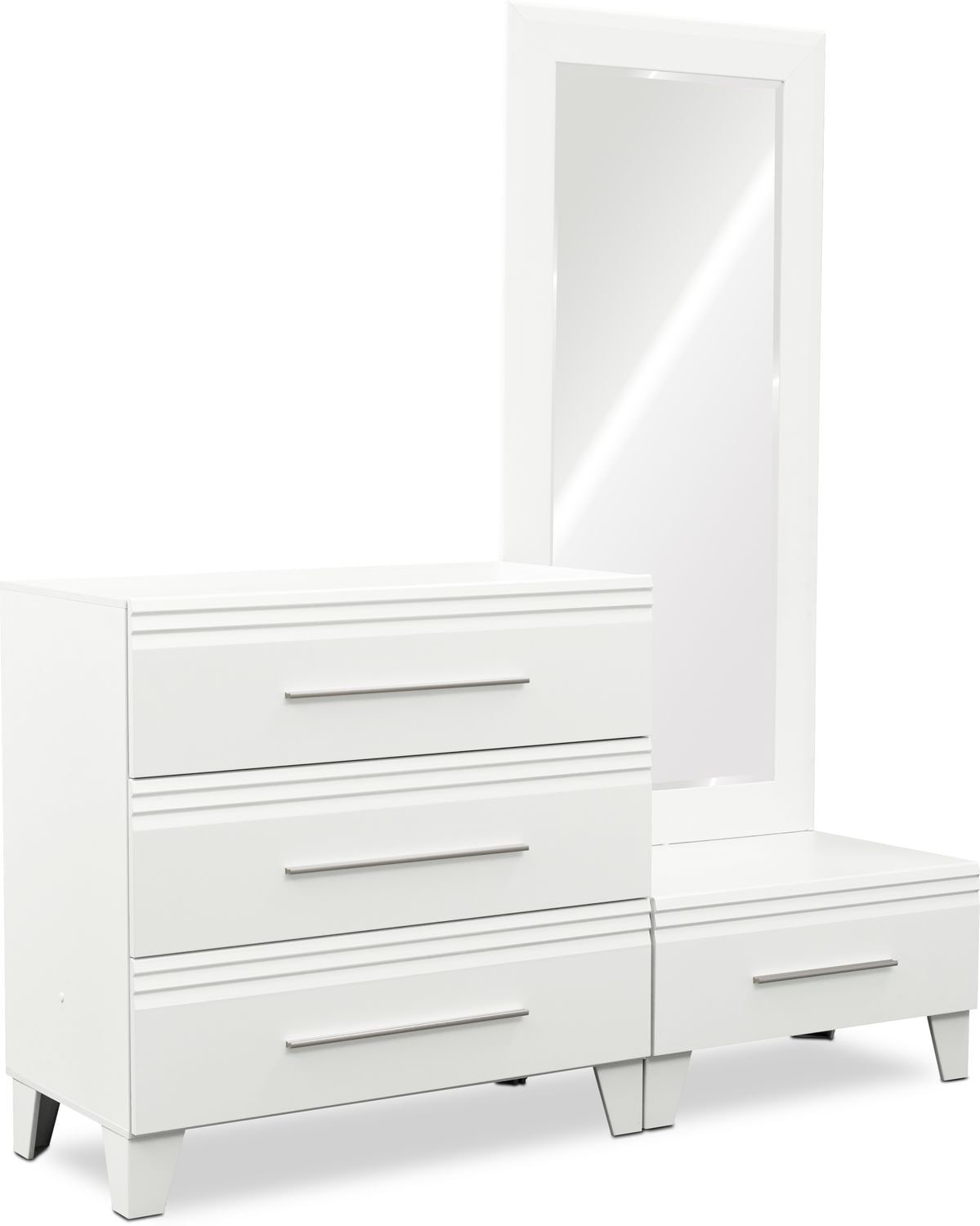 Allori Chest And Dressing Mirror Value City Furniture