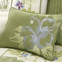 ambrosia green full queen bedding set