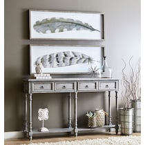 andrew gray console table