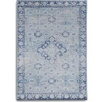 antero blue area rug ' x '