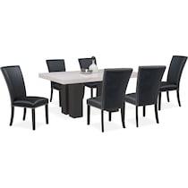 artemis black  pc dining room