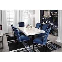 artemis blue  pc dining room