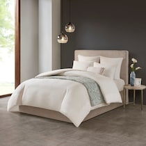 aurelia white full queen bedding set