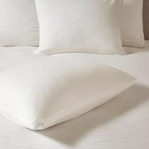 aurelia white king bedding set