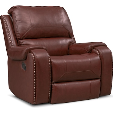 Austin Manual Recliner - Brown