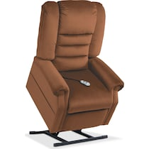 ava dark brown power lift recliner