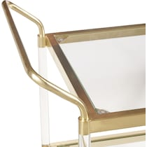 avion gold bar cart