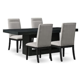 Banks Dining Table with 4 Chairs
