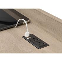 barclay gray l shaped desk