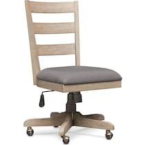 barclay gray office chair