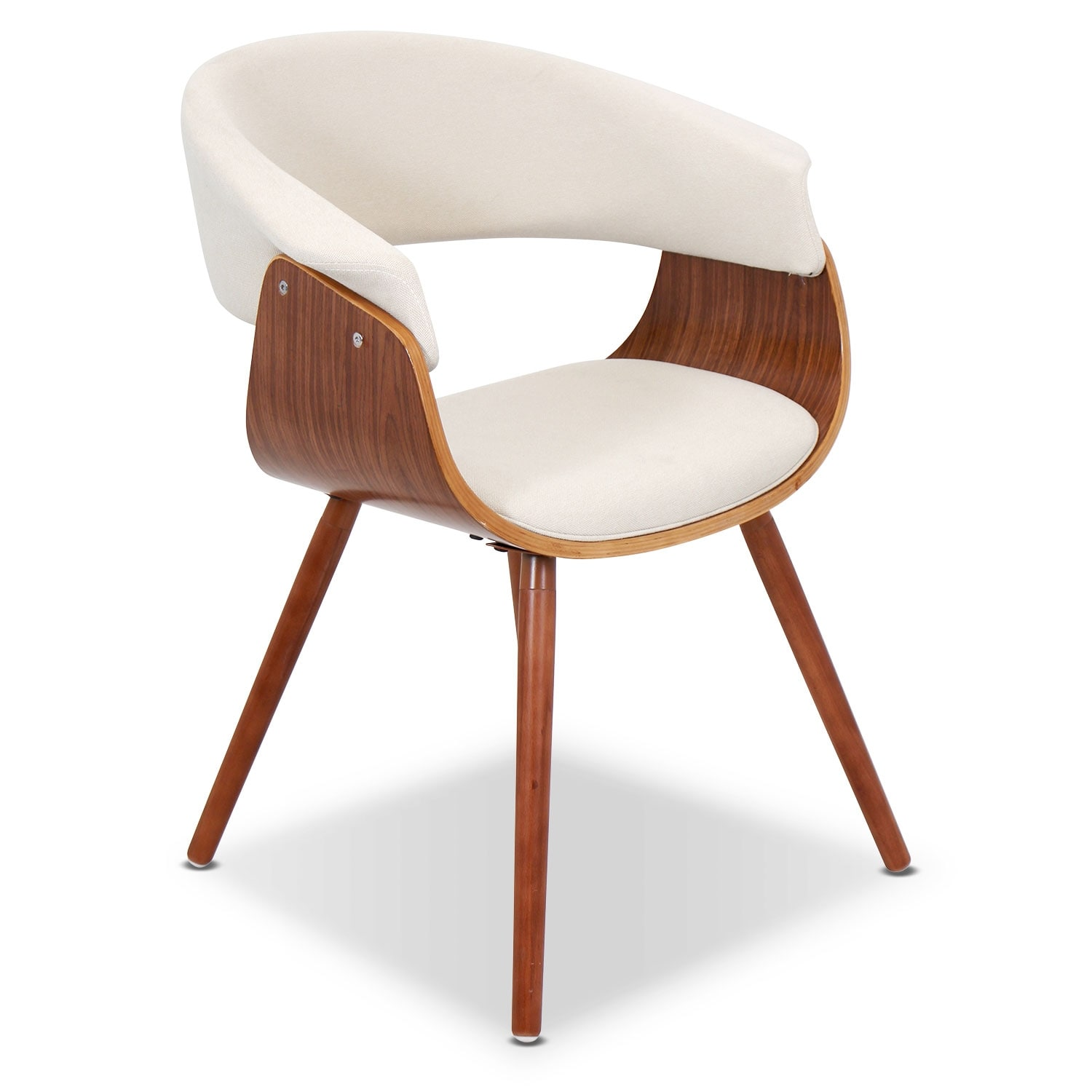 Living Room Furniture - Beacon Accent Chair - Cream