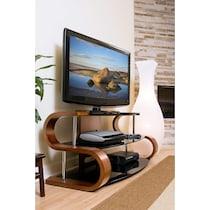 beacon dark brown tv stand