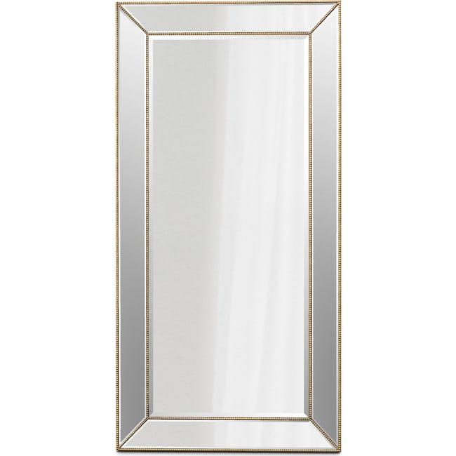 Home Accessories - Beaded Floor Mirror