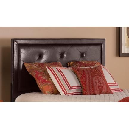 Becker Queen Upholstered Headboard - Brown