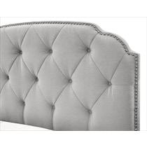 bella marmor gray queen bed