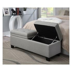 Bella Marmor Storage Bench