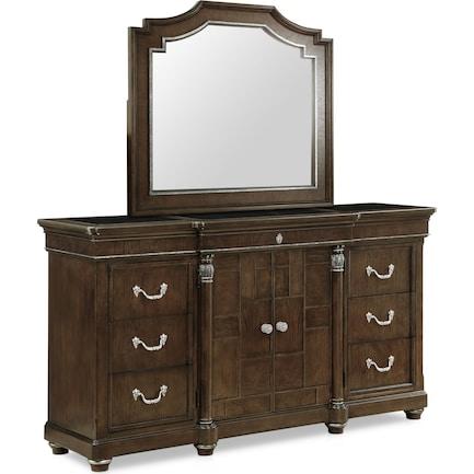Belmont Dresser and Mirror
