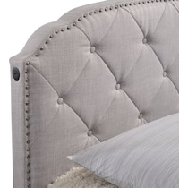 bethany gray queen storage bed