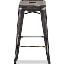 biggs black gold  pack counter height stools