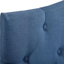 billie blue queen storage bed