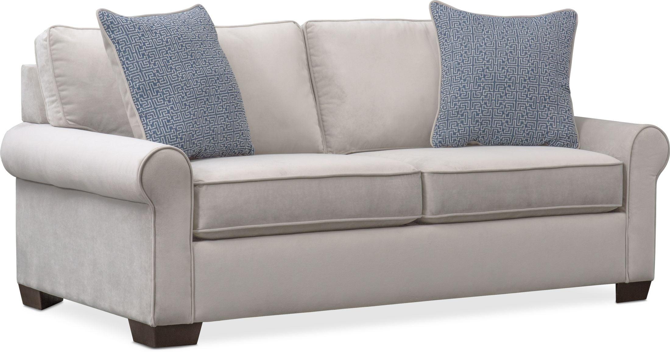 Living Room Furniture - Blake Full Sleeper Loveseat