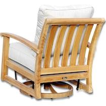 bonita white outdoor chair