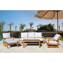 bonita white outdoor sofa