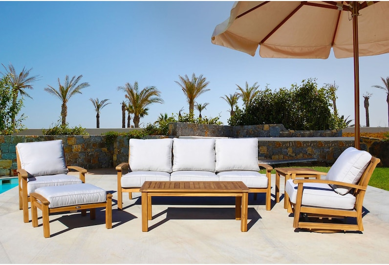 bonita white outdoor sofa