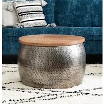 boswell silver coffee table