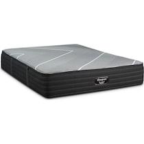 brb x class medium gray full mattress foundation set