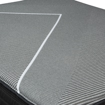 brb x class medium gray twin xl mattress foundation set