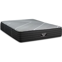 brb x class plush gray queen mattress foundation set